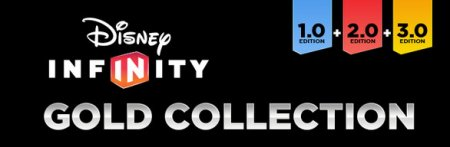 Disney Infinity Gold Collection 1.0|2.0|3.0 (2016/RUS/ENG/Лицензия)