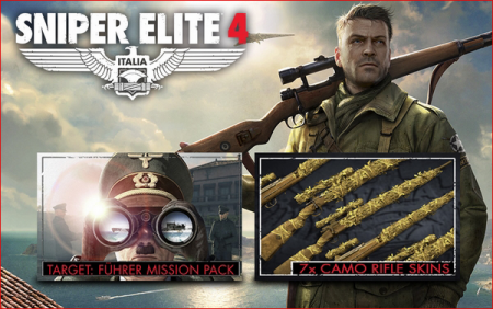 Sniper Elite 4 Deluxe Edition (2017/RUS/ENG/Steam-Rip)