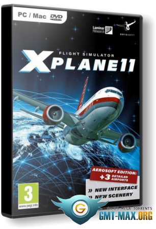 X-Plane 11 Global Scenery (2017/RUS/ENG/Лицензия)