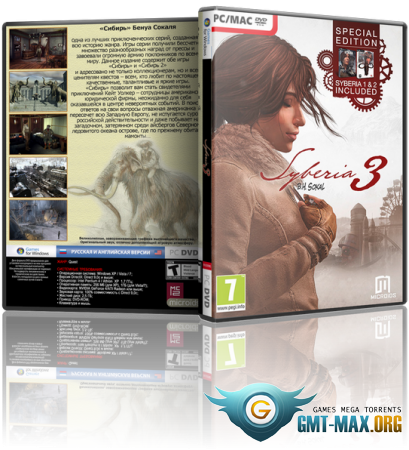 Syberia III / Сибирь 3 Deluxe Edition (2017/RUS/ENG/RePack от xatab)