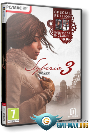 Syberia III / Сибирь 3 Deluxe Edition v.2.2 (2017/RUS/ENG/RePack от xatab)