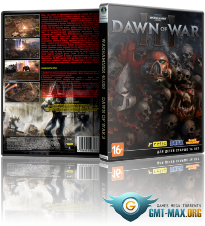 Warhammer 40,000: Dawn of War III (2017/RUS/ENG/Steam-Rip)