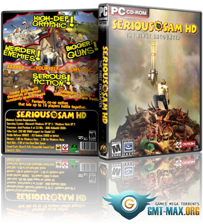 Serious Sam HD: The Second Encounter / Крутой Сэм HD: Второе Пришествие (2010/RUS/ENG/Steam-Rip)