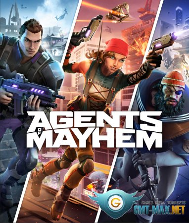 Agents of Mayhem Crack (2017/RUS/ENG/Crack by CPY)