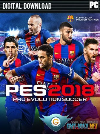 Pro Evolution Soccer 2018 / PES 2018 Crack (2016/RUS/ENG/Crack by CPY)