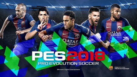 PES 2018 / Pro Evolution Soccer 2018: FC Barcelona Edition (2017/RUS/ENG/RePack от R.G. Механики)