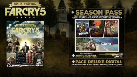 Far Cry 5 Gold Edition v.1.4.0 (2018/RUS/ENG/CPY)