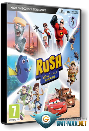 Rush: A Disney Pixar Adventure (2018/RUS/ENG/Лицензия)