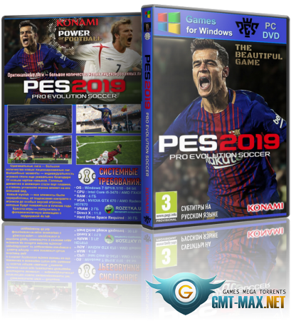 PES 2019 / PRO EVOLUTION SOCCER 2019 (2018/RUS/ENG/CPY)