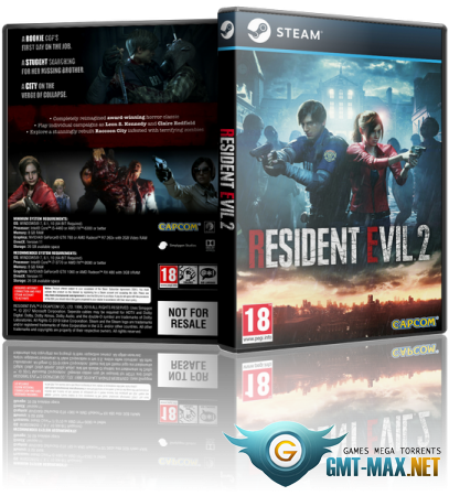 RESIDENT EVIL 2 / BIOHAZARD RE:2 Deluxe Edition v.1.04u5 + DLC (2019/RUS/ENG/RePack от xatab)