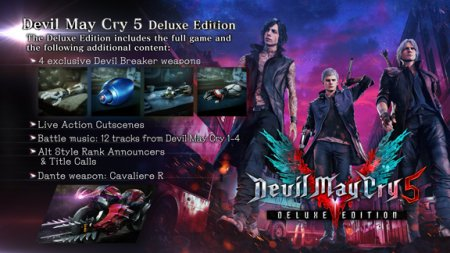 Devil May Cry 5: Deluxe Edition (2019/RUS/ENG/RePack от xatab)
