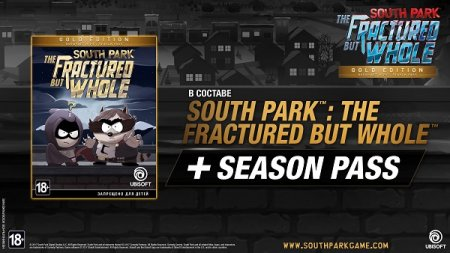 South Park: The Fractured but Whole Gold Edition (2018/RUS/ENG/Лицензия)