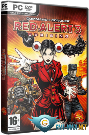 Command & Conquer: Red Alert 3 Uprising (2009/RUS/RePack от xatab)
