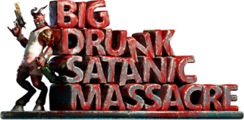 BDSM: Big Drunk Satanic Massacre (2019/RUS/ENG/Лицензия)