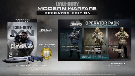 Call of Duty: Modern Warfare Operator Edition (2019/RUS/ENG/BattleNet-Rip)