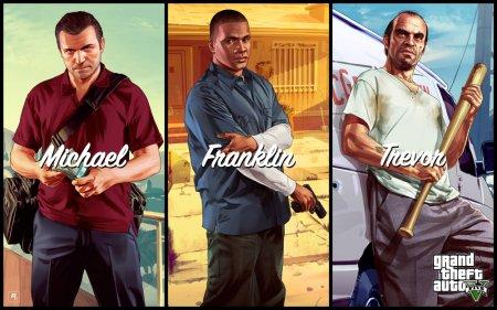 GTA 5 на ПК / PC / Grand Theft Auto V Premium Edition (2015/RUS/ENG/RGL-Rip)