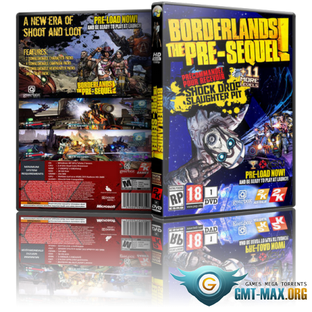 Borderlands The Pre Sequel Remastered v.2.0 + 7 DLC (2019/RUS/ENG/RePack от xatab)