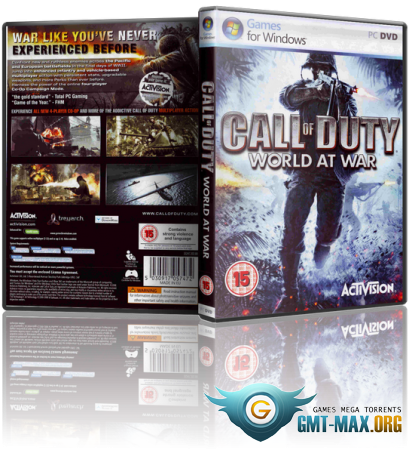 Call of Duty: World at War (2008/RUS/ENG/Multiplayer/RePack)