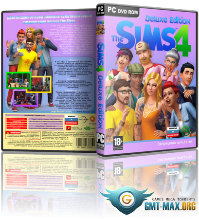 The SIMS 4 / Симс 4 Deluxe Edition v.1.70.84.1020 + DLC (2018/RUS/ENG/RePack от xatab)