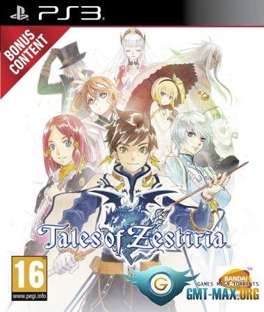 Tales of Zestiria + DLC (2015/ENG/EUR/3.41/3.55/4.21+)