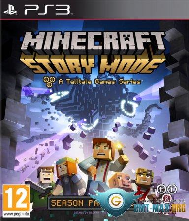 Minecraft: Story Mode - A Telltale Games Series (2015/RUS/EUR/4.70)