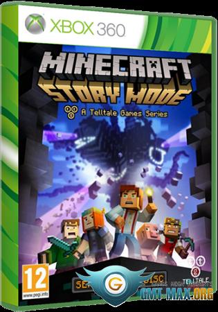 Minecraft: Story Mode - A Telltale Games Series (2015/RUS/PAL/LT + 1.9)