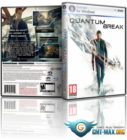 Quantum Break на ПК / PC (2016/RUS/ENG/RePack от xatab)