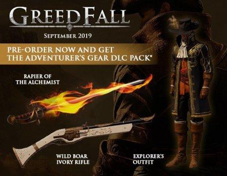 GreedFall (2019/RUS/ENG/Лицензия)