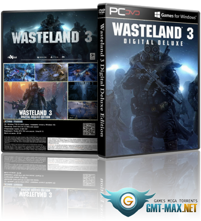 Wasteland 3 Deluxe Edition v.1.4.1.285987 + DLC (2020/RUS/ENG/GOG)
